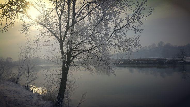 Vistula river. Tyniec