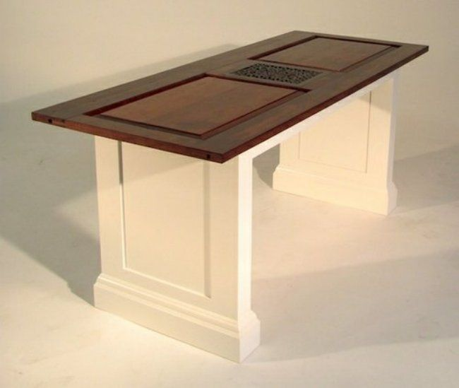 best 25 old door tables ideas on pinterest door tables. Black Bedroom Furniture Sets. Home Design Ideas