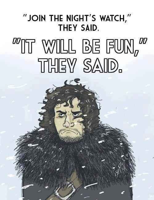 "The struggles of being Jon Snow. | 33 Jokes Only ""Game Of Thrones"" Fans Will Understand"