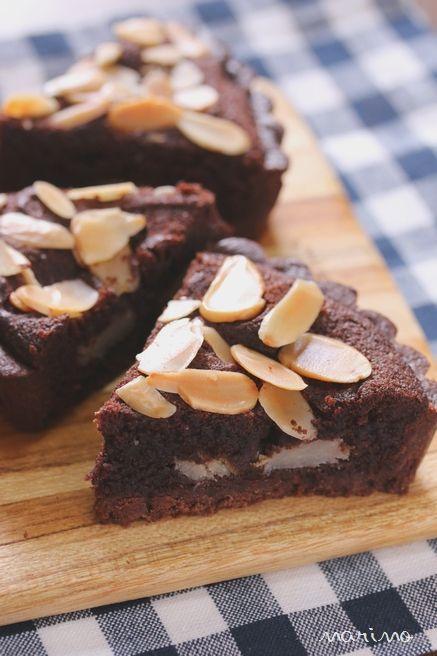 チョコバナナタルトのレシピ♪ リクエストスイーツ(17)
