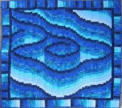 Bargello quilt another type of quilt I WANT to try