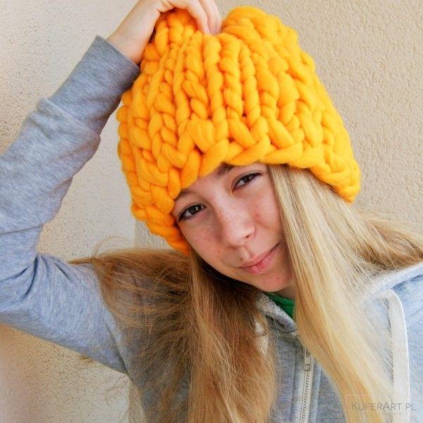 Mega czapa, czapka na mrozy - Czapki, berety - Ubrania