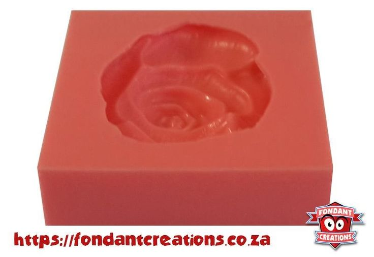 Large Open Rose Mould