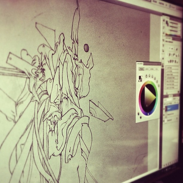 At last - getting one of the new pieces ready for digital. - @rafsarmento- #webstagram