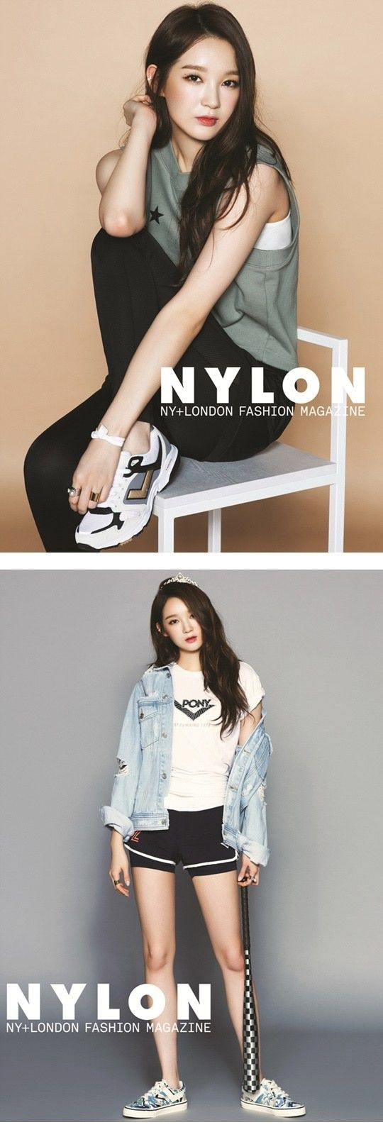 'Nylon' Magazine Features Kang Min Kyung as a Tomboy Princess | Koogle TV