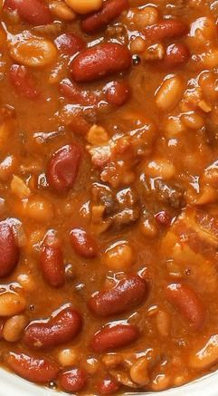 The Best Slow Cooker Baked Beans Bodacious Beans