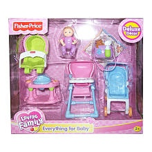 Nice Fisher Price Loving Family Dollhouse Furniture Set   Everything For Baby