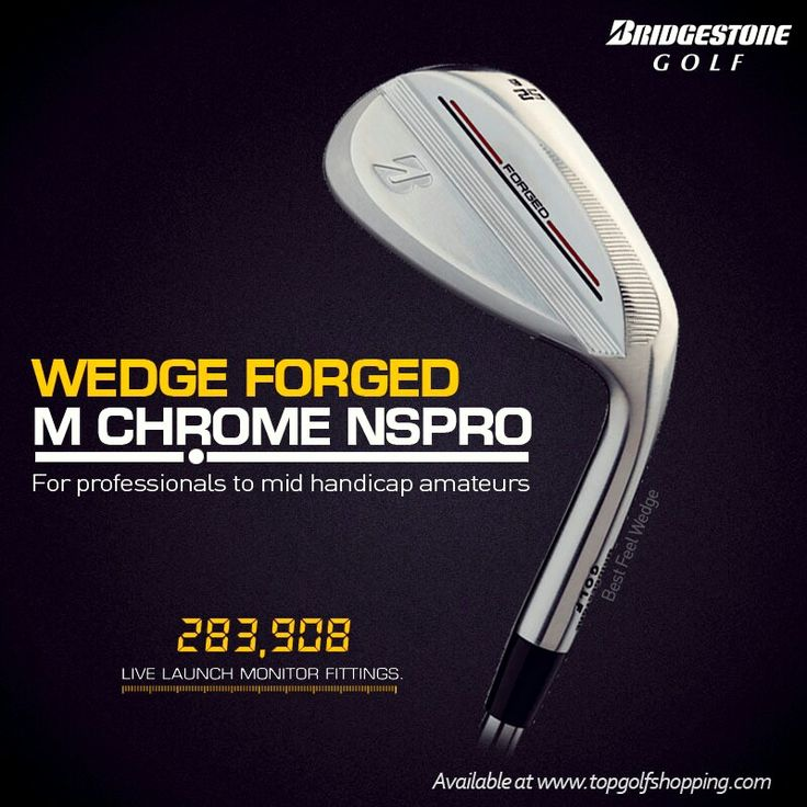 NEW Bridgestone Wedge  Forged M Chrome Nspro Available at www.topgolfshopping.com Free Shipping ( Indonesia)