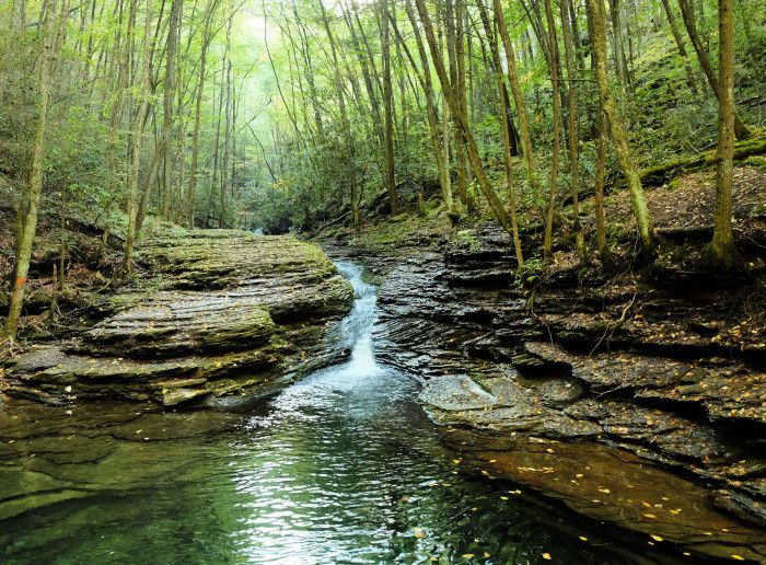 The Devil's Bathtub, Fort Blackmore - 10 must see spots in Virginia