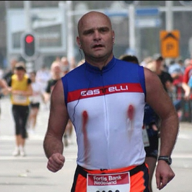 I guess marathons are not for nipple piercings.