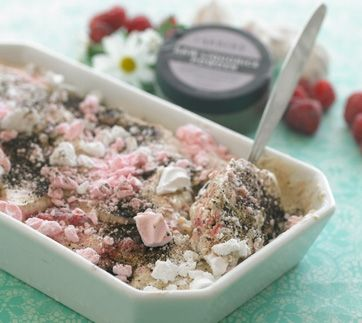 Rigtig god is med lakridssmag