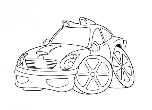 Coches Colorear Dibujos Animados Imagen De Stock In 2020 Coloring Pages Cars Coloring Pages Budget Book