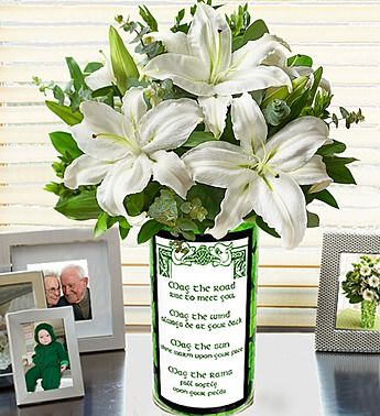 St. Patrick's Day Bouquet is the perfect way to send an #Irish blessing to your loved ones!  Deal of the Week! Save up to 33% on Sweet Spring Lilies, Over 50 Blooms, just $29.99! (Reg. $44.99). Order Now at 1800flowers.com (Offer Ends 03/15 or While Supplies Last) http://www.planetgoldilocks.com/flowers.htm #flowers #roses #bouquets #pinkroses #flowersales #flowercoupons #1800flowers