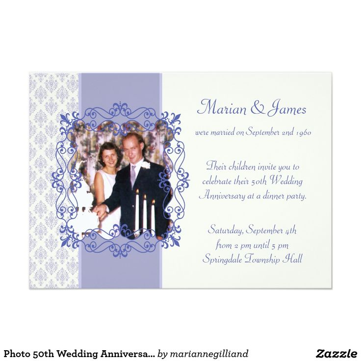 219 best Gold and Silver Wedding Anniversary images on Pinterest - fresh invitation samples for 50th wedding anniversary