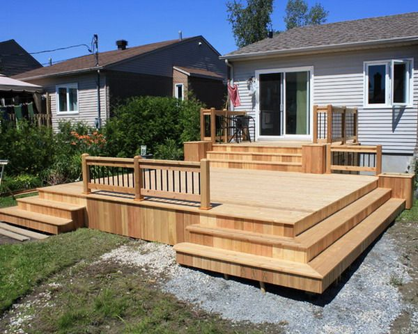 17 best images about home deck ideas on pinterest hot tub deck back deck and wood decks