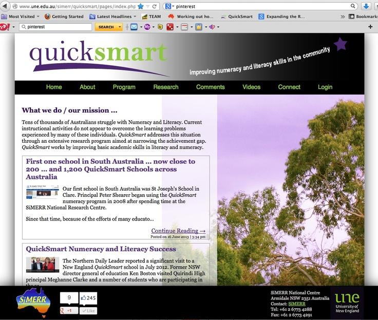 http://www.une.edu.au/simerr/quicksmart/pages/index.php