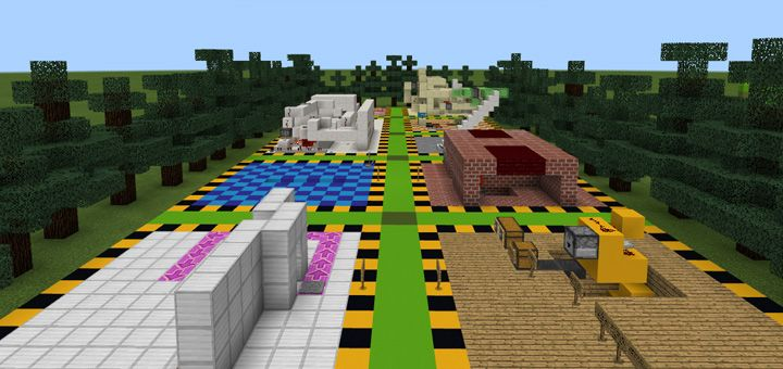 Enjoying a great survival world or choosing the creative mode is possible with 20 Redstone Creations [Redstone] Map. These creations could be listed here, including TNT cannons, TNT traps, etc. These creations are not only useful but also supportive in building redstone structures. Founded by:... https://mcpebox.com/20-redstone-creations-redstone-map-minecraft-pe/