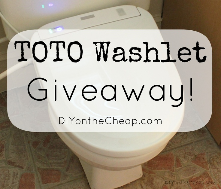 Erin reviewed our TOTO S300e Washlet (Giveaway is now