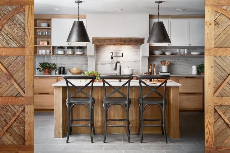 """Read all about the """"why"""" behind some of my favorite kitchen design tips in this modern Mediterranean kitchen from HGTV's Fixer Upper episode."""