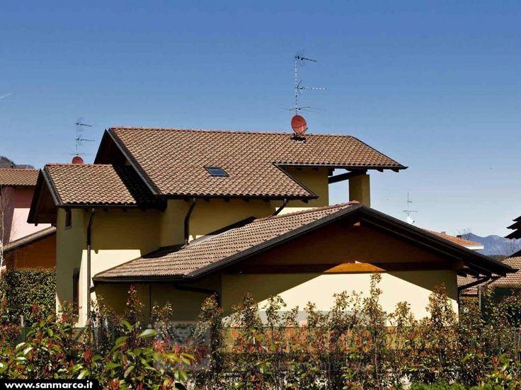 Dachówka SanMarco w kolorze Classico -znajdziecie ją u nas na www.alledachy.pl #terreal #sanmarco #dachówka #rooftiles #roofs #dachy #dachyrustykalne #alledachy #dachowkiwłoskie #włoskiklimat #italianstyle