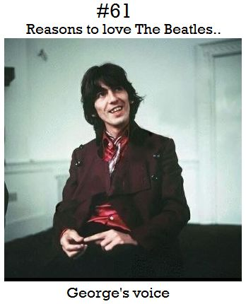 Reason To Love The Beatles--George's voice