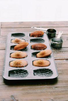 Recette madeleines sans gluten et sans lactose - Erable, gingembre