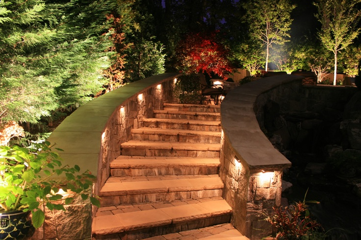 Outdoor Lighting for Steps and Walkways | Michigan Outdoor Lighting Company in Macomb County