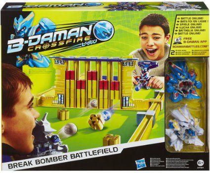 B-Daman - A4464E350 - Jeu De Société - Break Bomber Battle Set: Amazon.fr: Jeux et Jouets