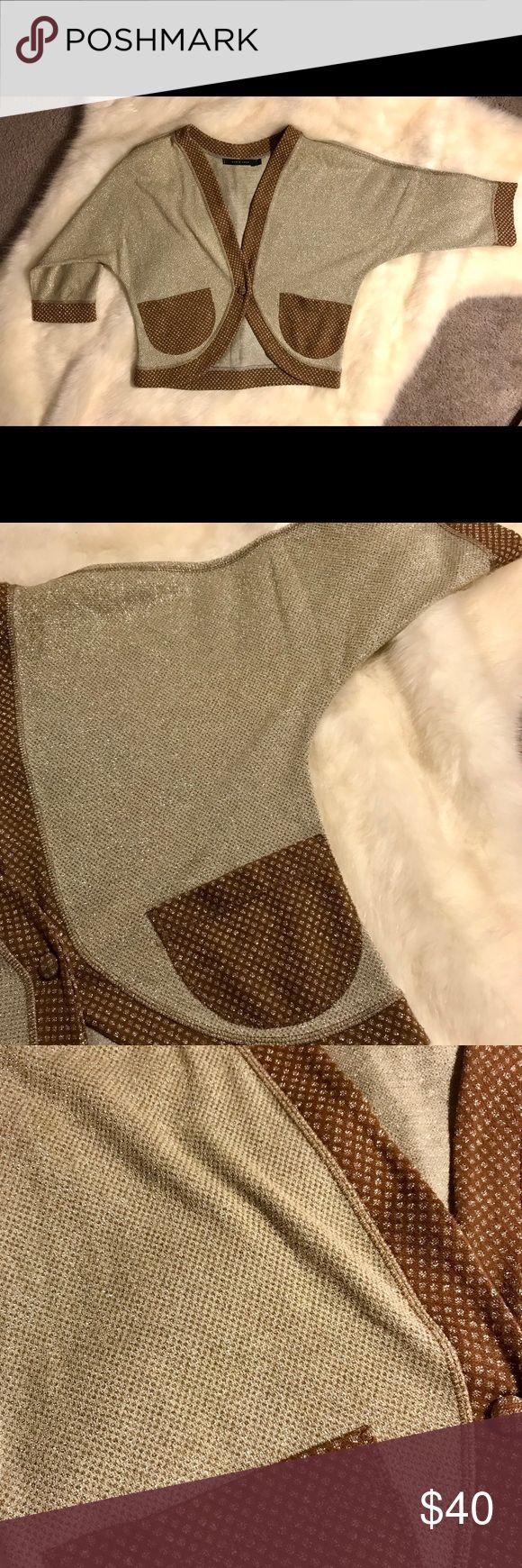 I just added this listing on Poshmark: Short shrug formal sparkle sweater. #shopmycloset #poshmark #fashion #shopping #style #forsale #Maria Cher #Sweaters