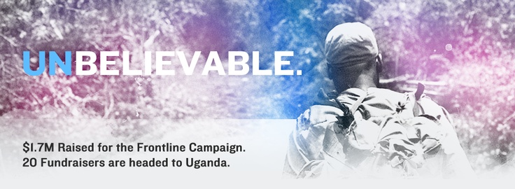 looking for a cause to donate to?...Invisible Children uses film, creativity and social action to end the use of child soldiers in Joseph Kony's rebel war and restore LRA-affected communities in central Africa to peace and prosperity.