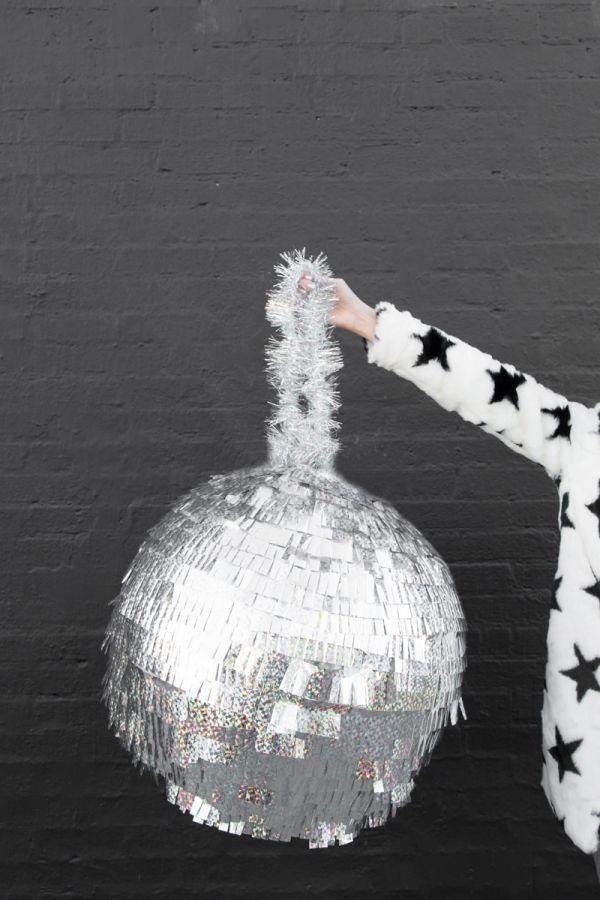 DIY Disco Ball Piñata | studiodiy.com