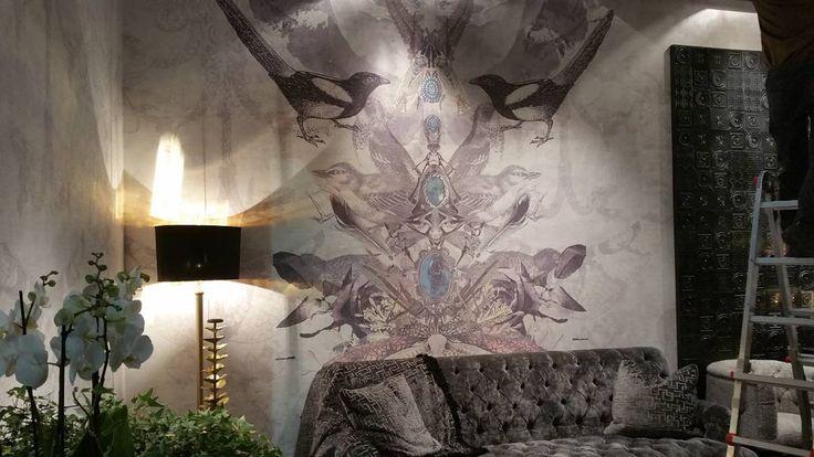 @isaloniofficial hall 3 stand G35 #mdw16 #milandesignweek #milanofiera #rhofiera #rho #ściana #dekoracja #aranzacja_wnetrz #architekturawnętrz #projektowaniewnetrz #wnętrze #decor #isalone #tecnografica @banditdesign