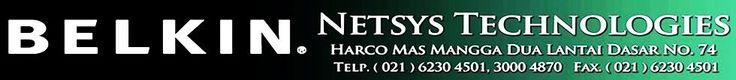 Toko Online Kabel Jaringan ~ NetSys Technologies ~ Distributor Belkin ~ Harcomas Mangga Dua - NETSYS TECHNOLOGIES