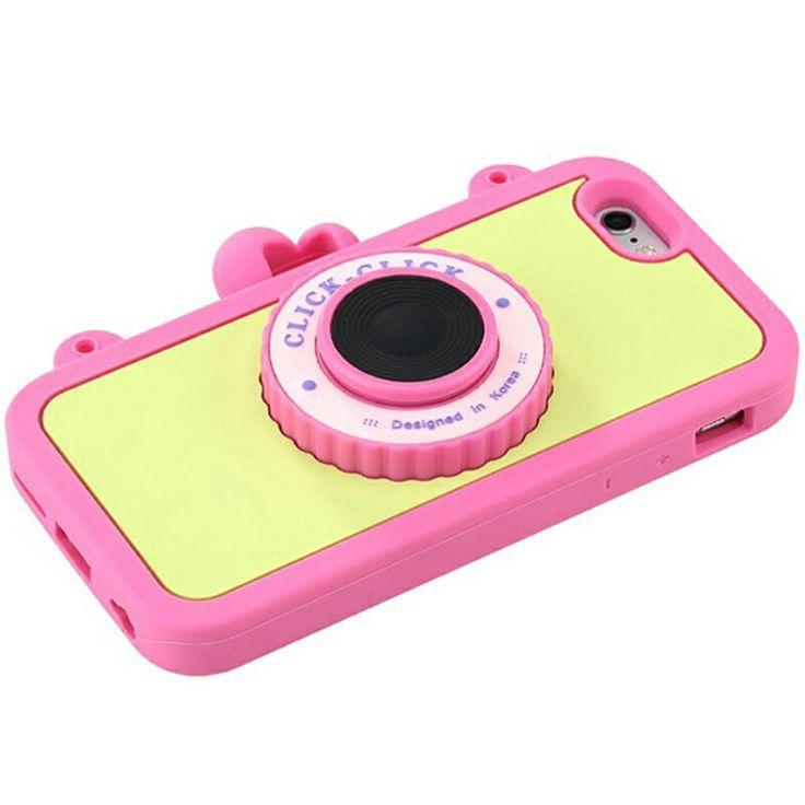 Carcasa de camera cámara colores pastel iphone 6