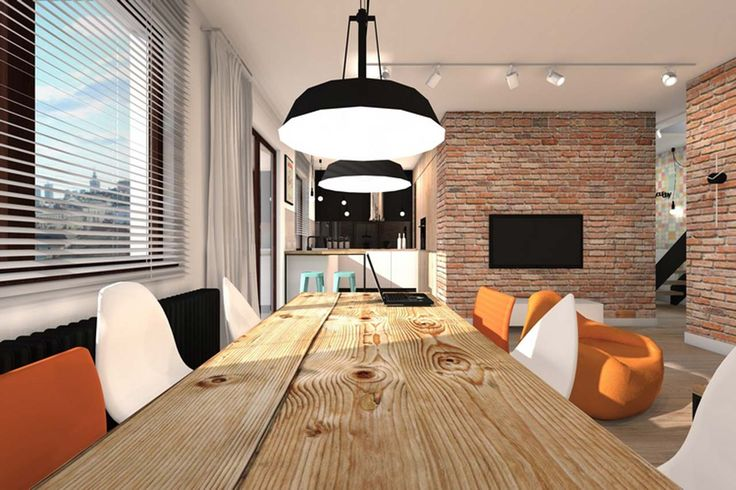 Best Home Interior Design Miting Room ~ http://www.lookmyhomes.com/best-home-interior-design-ideas-15-photos-by-loft-in-katowice/