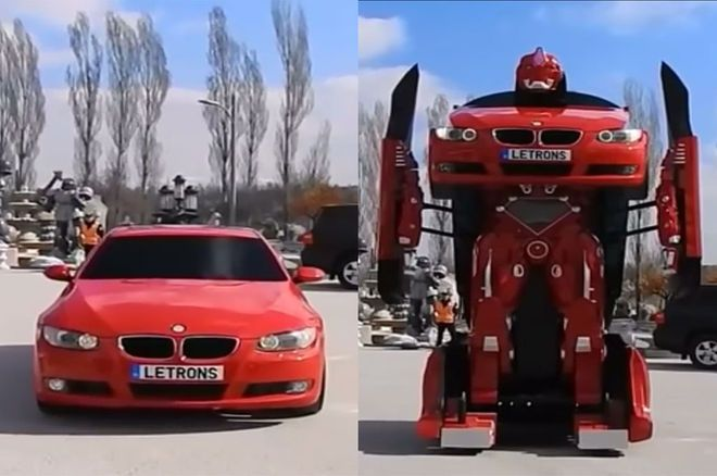 «Transformers» BMW μετατρέπονται σε τεράστια Robot - http://secn.ws/2cyHUPW -   Μια τουρκική εταιρεία κατασκευάζει «Transformers» από αυτοκίνητα BMW!   Οι περισσότεροι από εμάς έχουμε δει την ταινία «Transformers», που κυκλοφόρησε το 2007 και τις μετέπειτα συνέπειές της. Ένα πράγμα που ξεχώρισε στ�