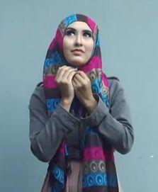 Tutorial Hijab Casual Gaya Kashmir Terbaru 2016