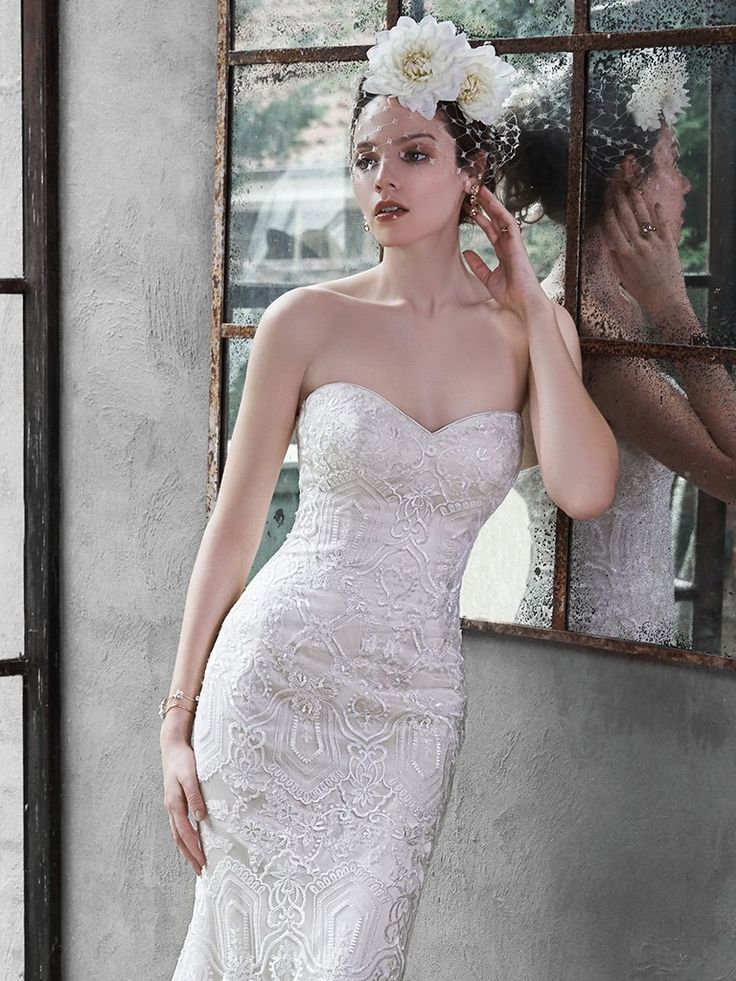 Unique Maggie Sottero Fredricka Maggie Sottero gowns Available at the Perfect Wedding Dress Bridal