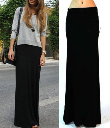 Black maxi ideas