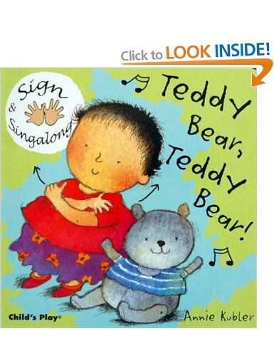 18 best deaf characters in childrens storybooks images on teddy bear teddy bear bsl sign singalong by annie kubler fandeluxe Gallery