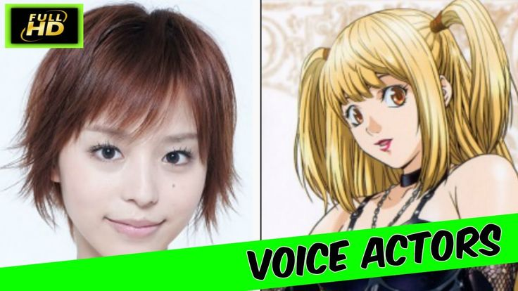 Death Note Japanese Voice Actors Death Note Anime Japanese Death Note 20...