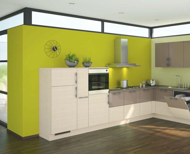 Resultado de imagen para decoracion de cocinas color verde y cafe