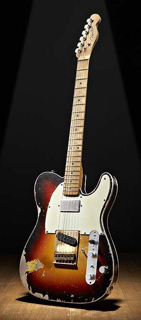 1962 Fender Telecaster   Lots and lots of mods on this Tele... Bridge, saddles, pickups... I bet are not original.