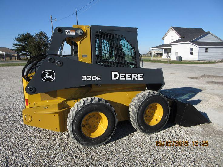 97 best skid steer images on pinterest tractor heavy equipment john deere 320e skid steer loader fandeluxe Gallery