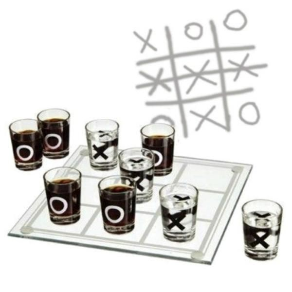 Tic-tac-toe, three in a row! - 2 Player Drinking Game -www.cooliyo.com