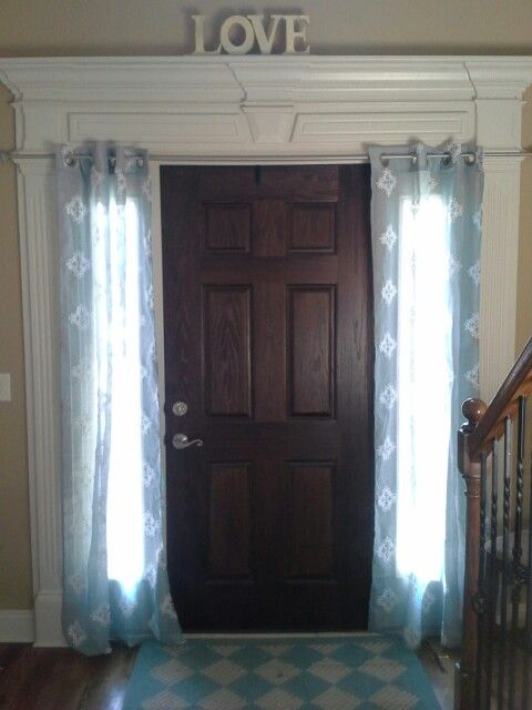 8 Best Images About Sidelights Coverings On Pinterest