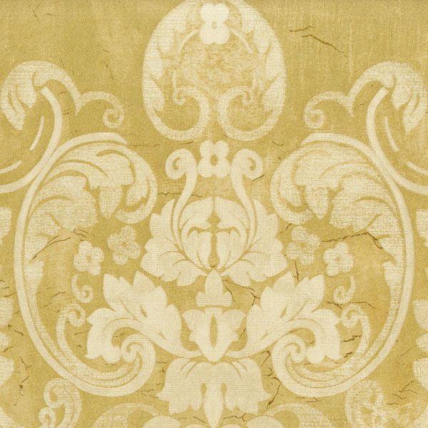Fresco Damask Gold
