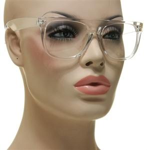 new mens womens cool nerds eyeglasses translucent clear frame unisex glasses