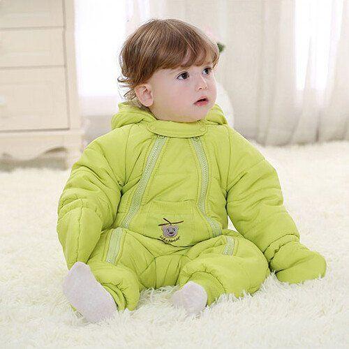 New 2016 Baby  Down Coat Romper Newborn Snowsuit Clothing Coveralls