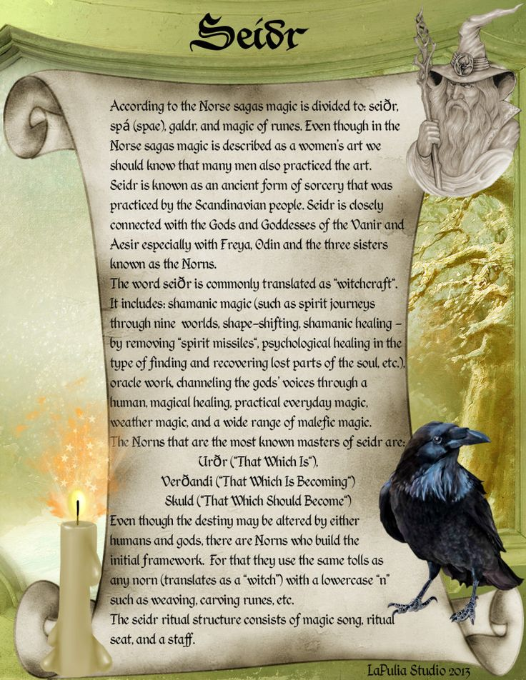 Intro to Norse Sorcery Page 1 - Seidr